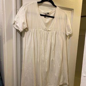 ASOS white T-shirt dress